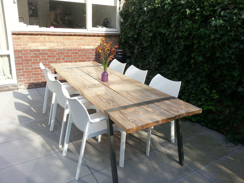 Table Bois Metal Exterieur table #design #bois #metal #exterieur tafel pi