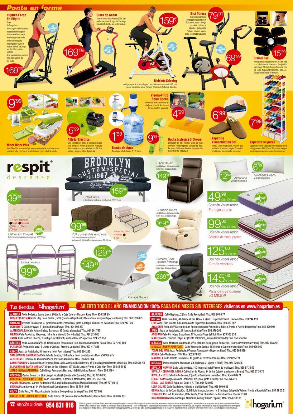 Promocion Tiendas Fisicas Hogarium 3 Y 4 De Marzo Tiendas