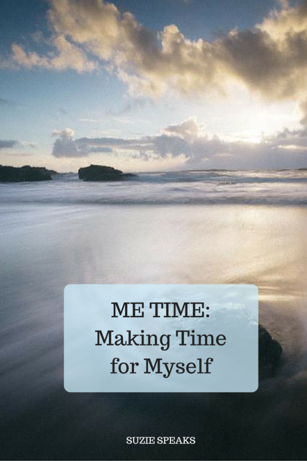 Why it's important that I make time for myself every week...