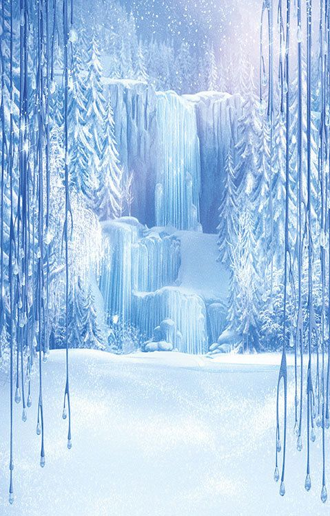 Disney Frozen Printed Backdrop Backdrop - VERTICAL