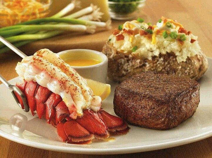 Steak & Lobster | Outback steakhouse, Food, Steak and lobster