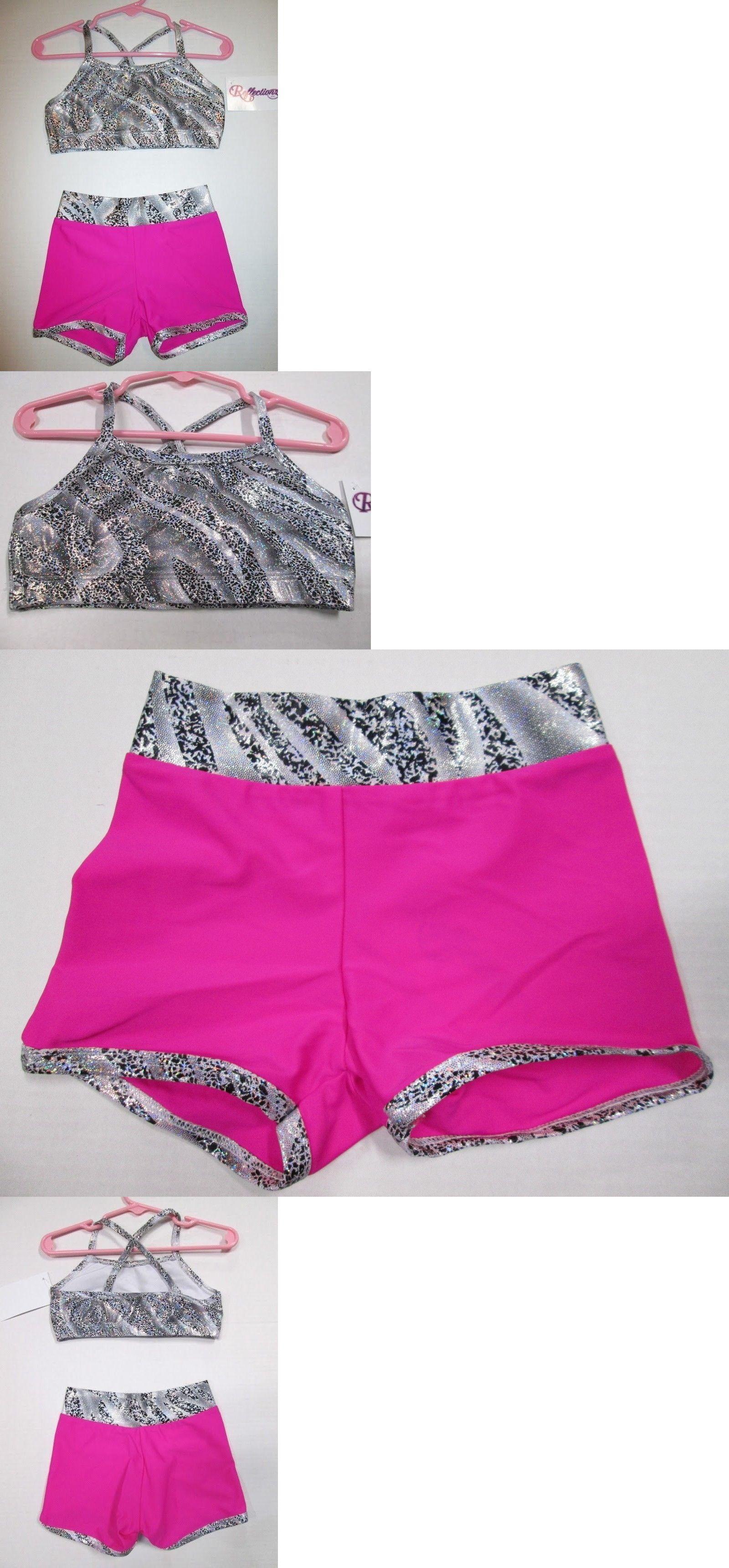 26d755ea3 Outfits 152355  New Crop Bra Top Shorts Set Size 4 Xs Sc Child Lot ...
