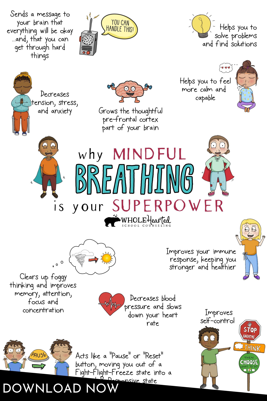 Parents Teachers Digital Mindfulness Breathing Exercises