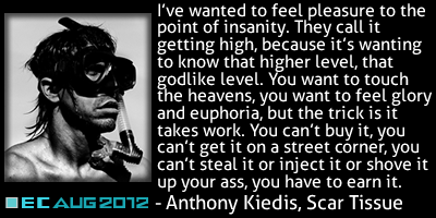 Anthony Kiedis Quote From Scar Tissue Enlightenment Community