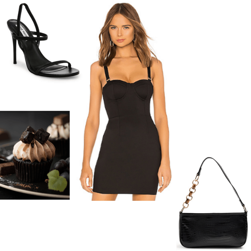Birthday Look Little Black Dress Outfit For Birthday With Black Heels And Bag Cute Birthday Outfits Little Black Dress Outfit Fashion [ 1024 x 1024 Pixel ]