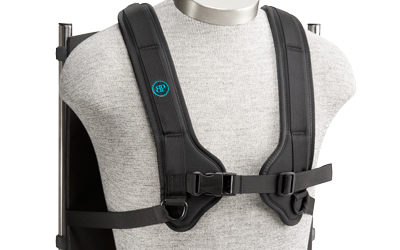 Bodypoint Clic Design H-Style Shoulder Harness for Wheelchair ...