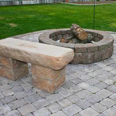 Stone Benches And Stairs Mutual Materials Stone Bench 640 x 480