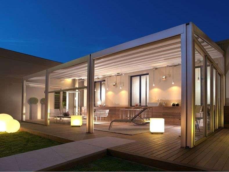 Arredare una veranda coperta