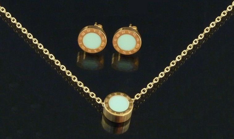parure bijoux femme raffiné