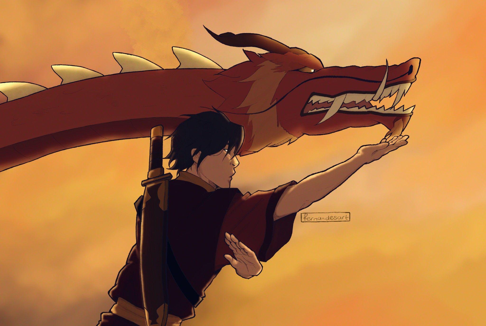 The Dancing Dragon feat. Zuko in 2020 The last avatar