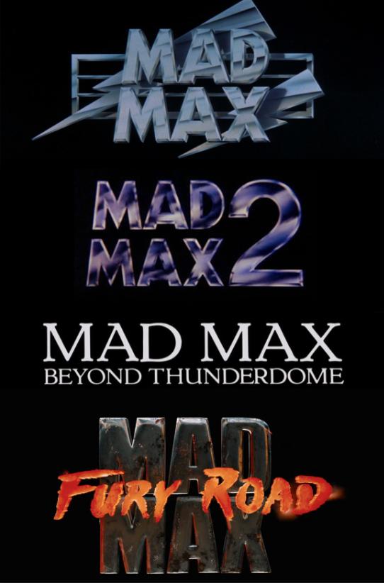 The Mad Max Title Logos By Ejlightning007arts Deviantart Com On Deviantart Mad Max Mad Max