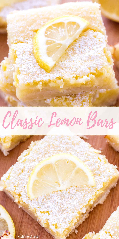 Classic lemon bars Classic lemon bars,