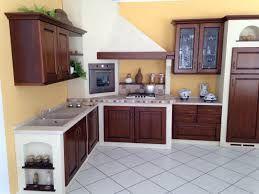 Risultati immagini per cucina in muratura ad angolo   arredamento ...