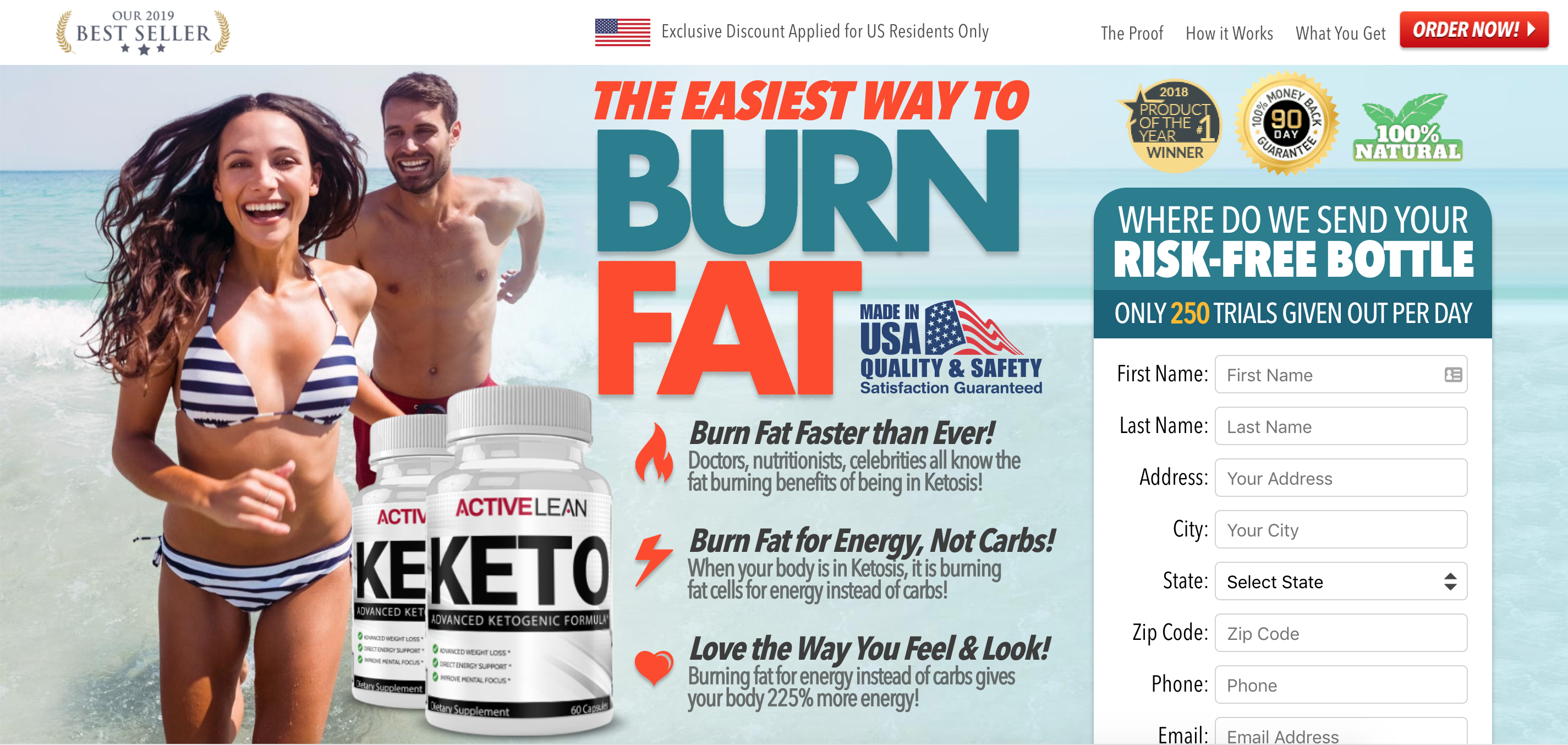 Active Lean Keto Diet Trial Us Diet Keto Diet How To Apply