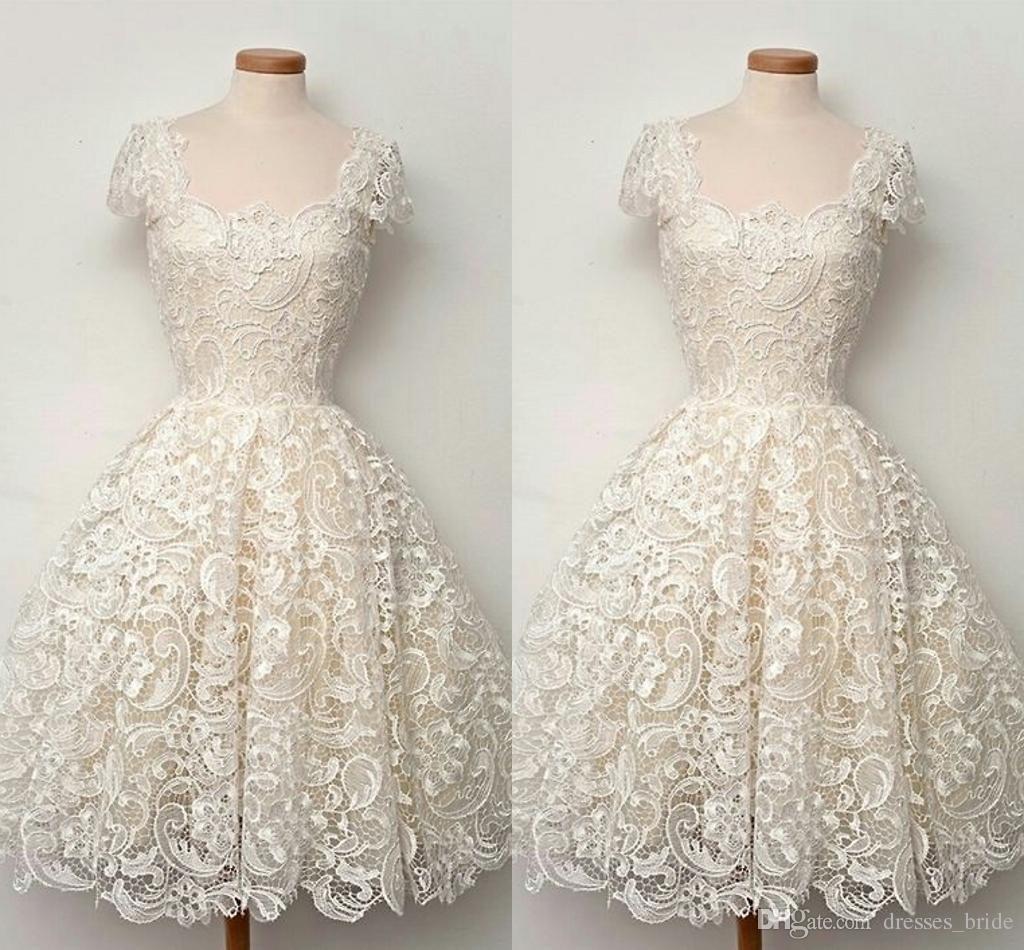 Vintage Lace Prom Dresses 2014