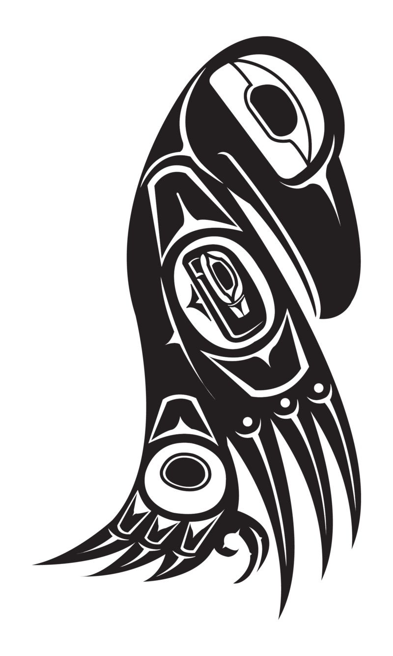 Native american symbol for libra is the raven tattoo you northwest nativeam raven by thescallywag biocorpaavc Image collections
