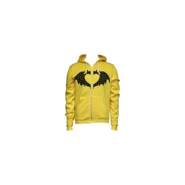 Clandestine Industries ❤ liked on Polyvore featuring tops, hoodies and yellow top