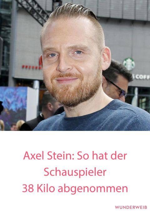 Axel Stein Abgenommen