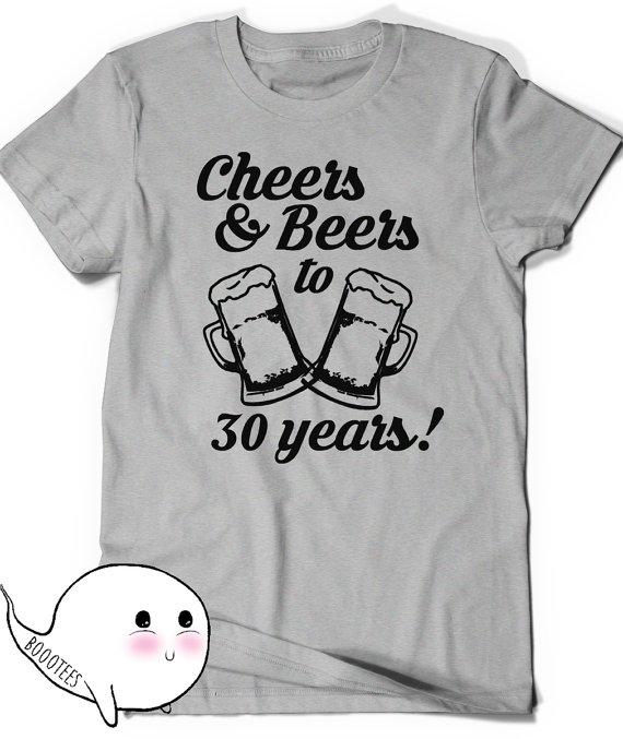 30th Birthday Shirt Ideas