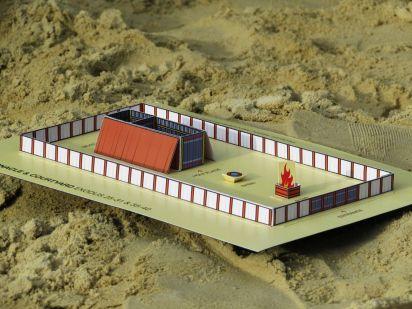 FREE Printable Tabernacle Mini-Model | Gyerekek
