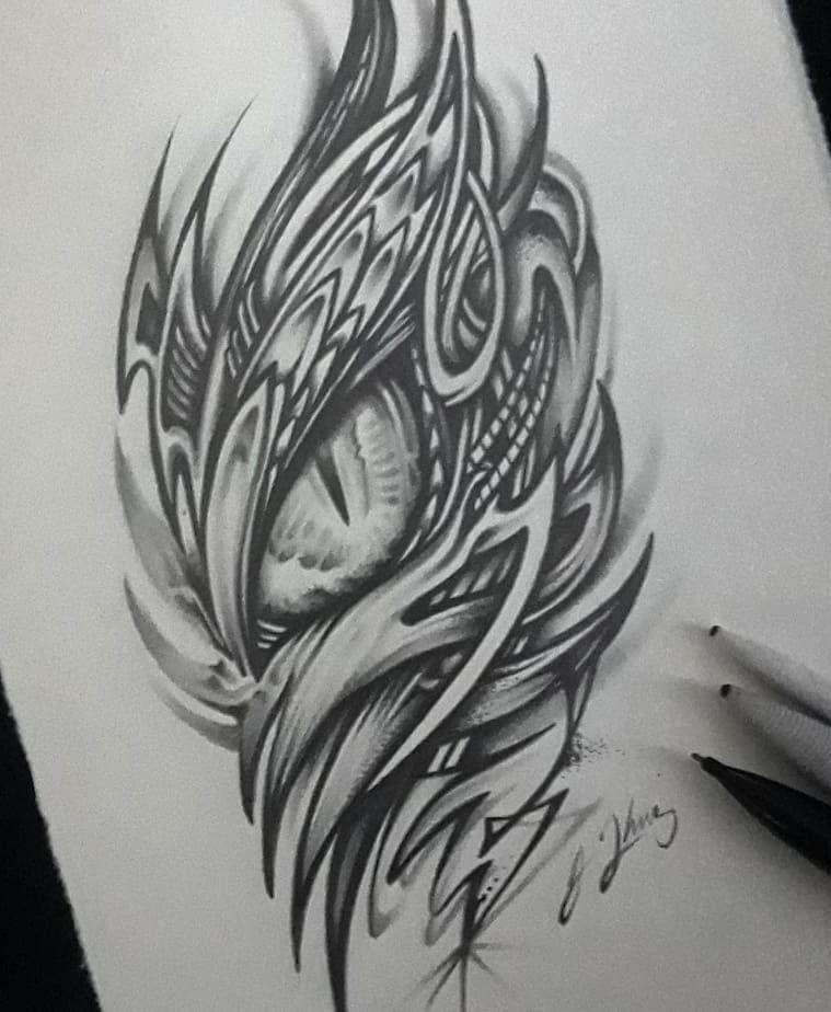 Dragon Eye Biomech Dragon Dragoneye Tattoo Dragoneyetattoo Sketch Sketchbook Dragonsketch Pencildrawing Eye Sketch Dragon Eye Drawing Tattoo Sketches