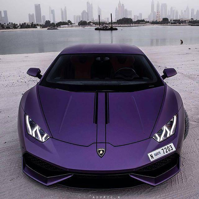 Custom Purple Lamborghini Huracan True Supercars Concepts
