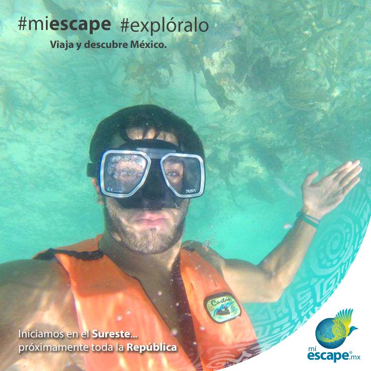 Captura nuevos momentos. #MiEscape #México