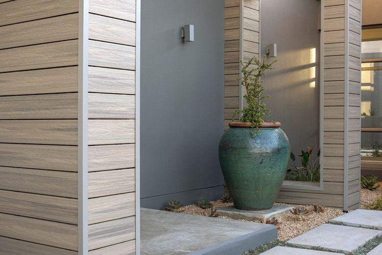 Revetement Composite Immitation Bois Relookez Votre Facade Bardage Exterieur Maison Bardage Composite Bardage Bois Composite