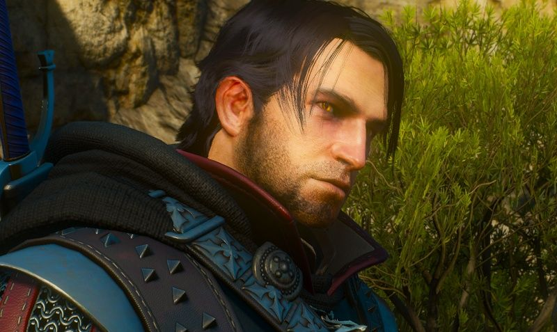 Black hair and young geralt at The Witcher 3 Nexus - Mods