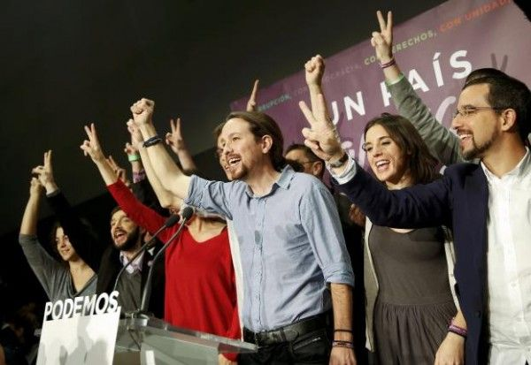 Two new groups trim lead of traditional parties in Spain
