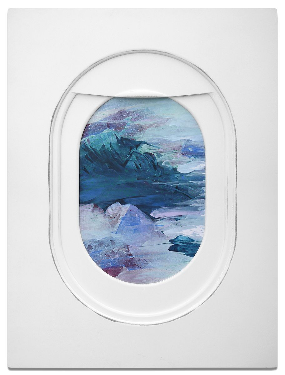 Jim Darling S Paintings Move Us Into The Passenger S Seat