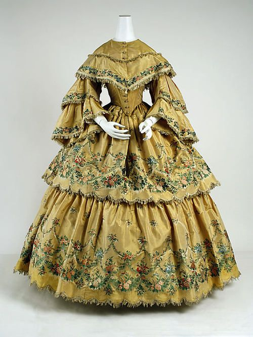 Alte Kleider Kaufen Dress, 1859, The Metropolitan Museum Of Art, Via Http ...