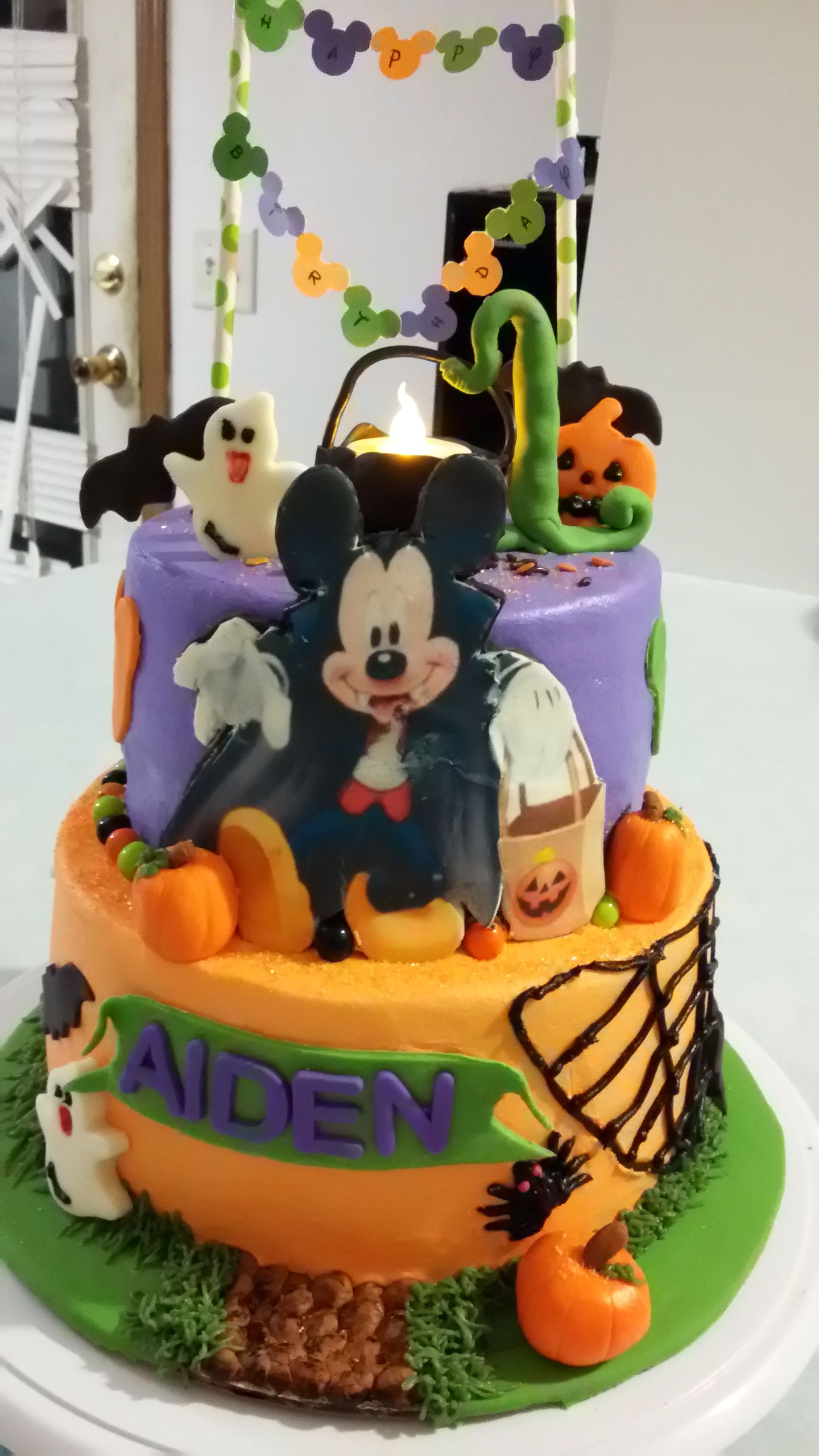 Mickey Mouse Halloween Birthday Cake My Dessert Creations