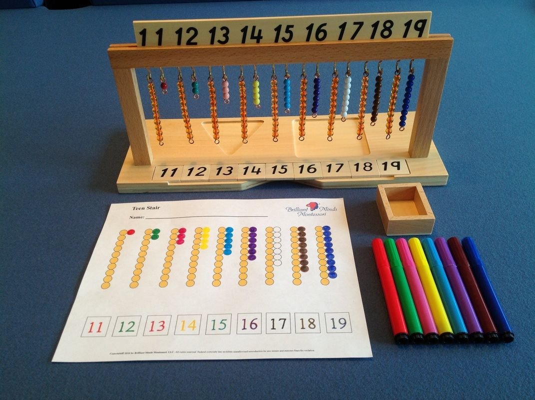 Hanging Bead Stair With Extension Worksheet