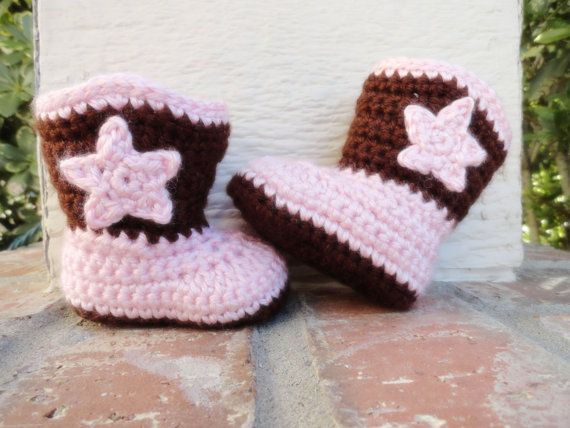 every little girl needs cowboy boots!! Perfect for baby shower gift and great as photo props!