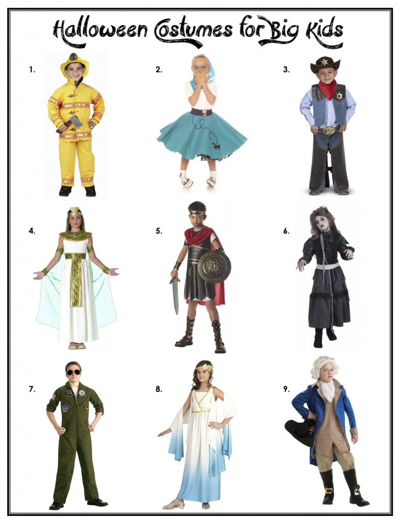 Halloween Costumes for Big Kids Baby halloween costumes