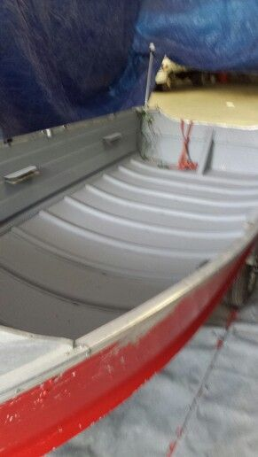 John Boat Sprayed And Sealed Another Hy Customer Boats Seal Sea Lions
