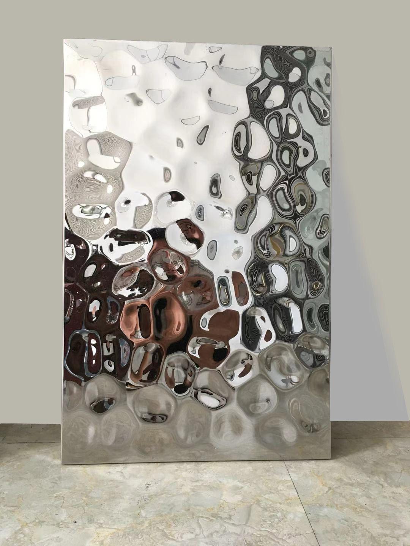 Water Ripple Steel Sheets In 2020 Stainless Steel Art Decorative Metal Sheets Sheet Metal Wall