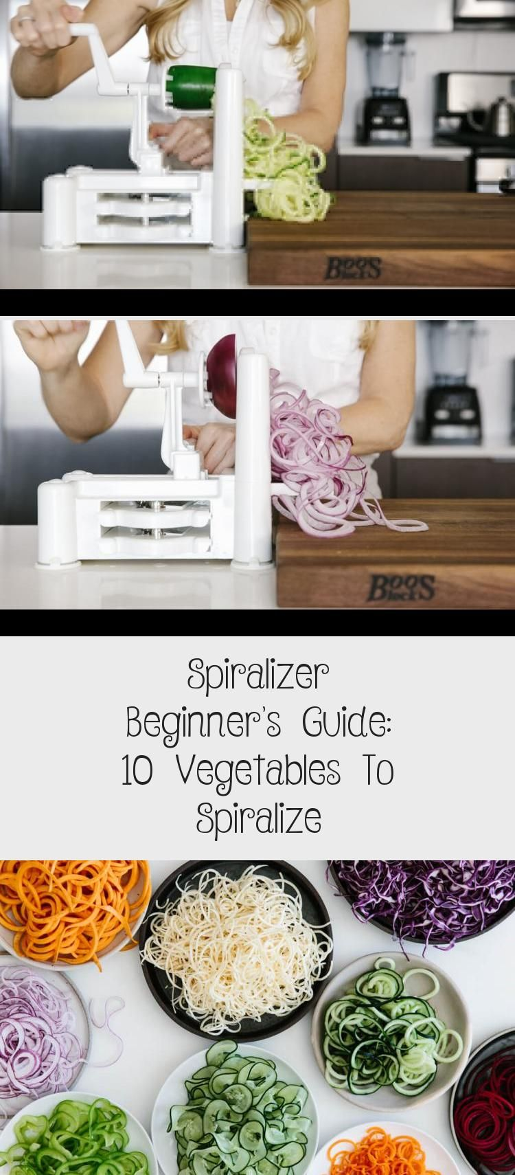 Spiralizer Beginner's Guide: 10 Vegetables To Spiralize The spiralizer is one of my favorite kitchen tools. Today I'm sharing my favorite vegetables to spiralize along with veggie spiralizer tips and healthy spiralizer recipes. Learn how to spiralize - it's easy!