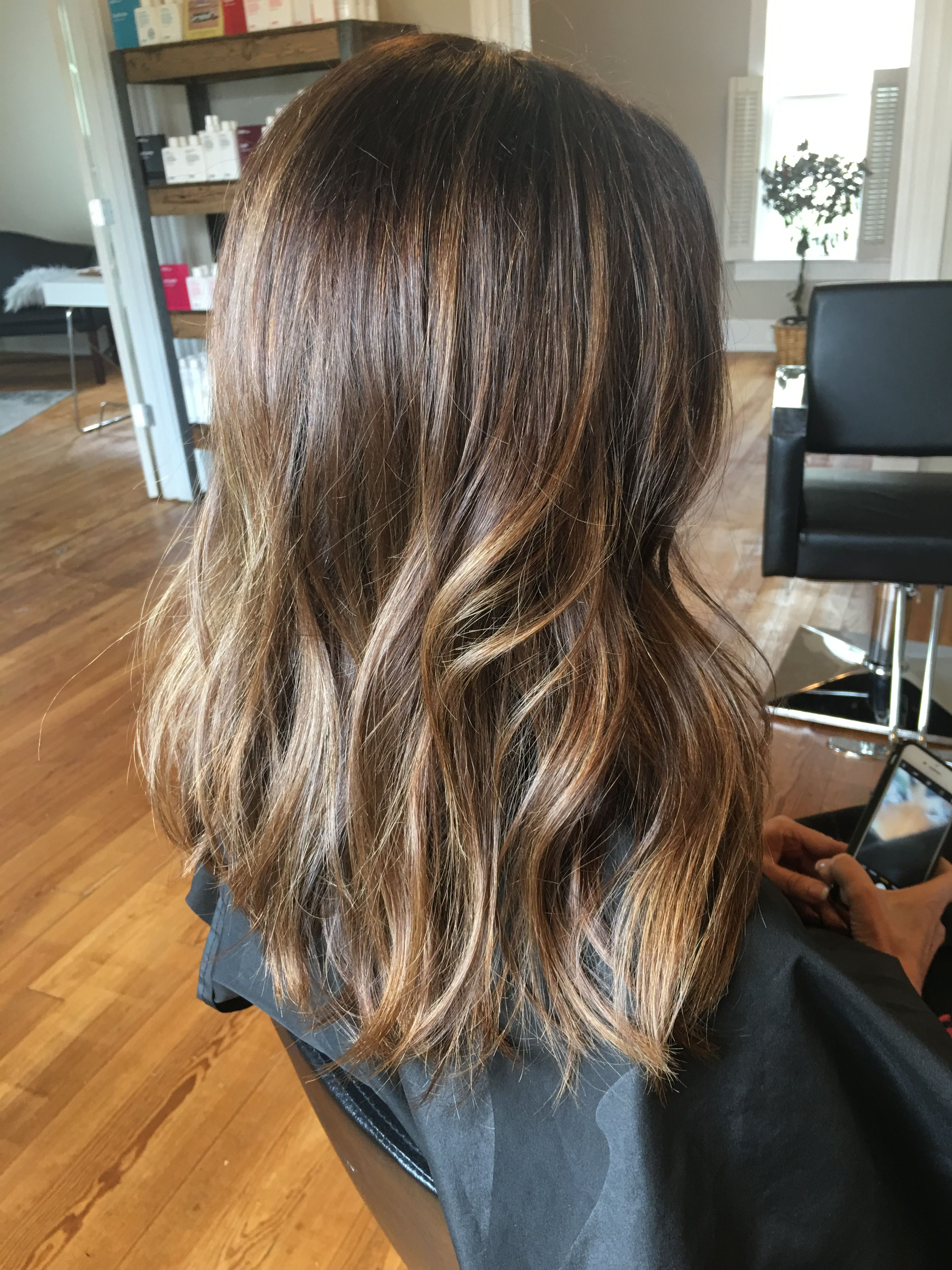 Balayage Highlights Hair By Brittni Salon H Ross Downtown Rogers