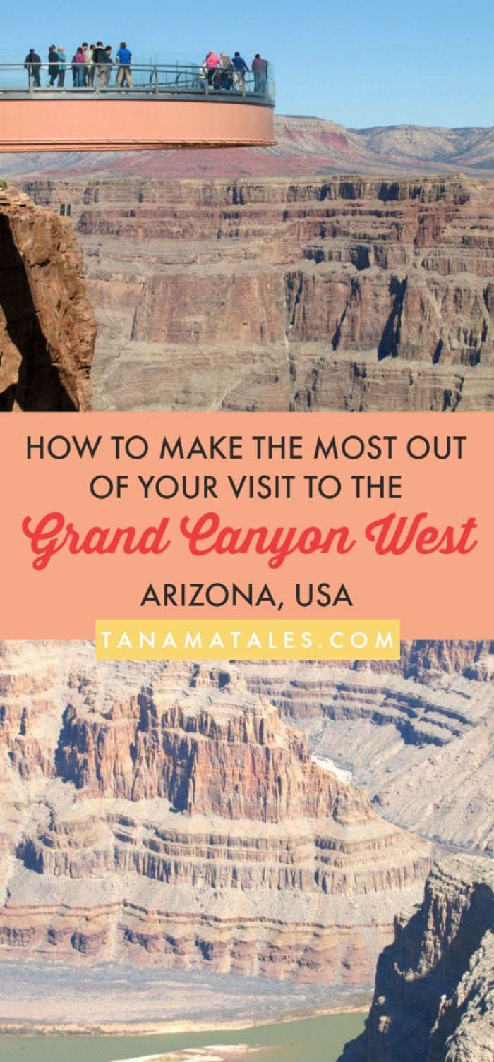 Visiting the Grand Canyon West Rim Arizona