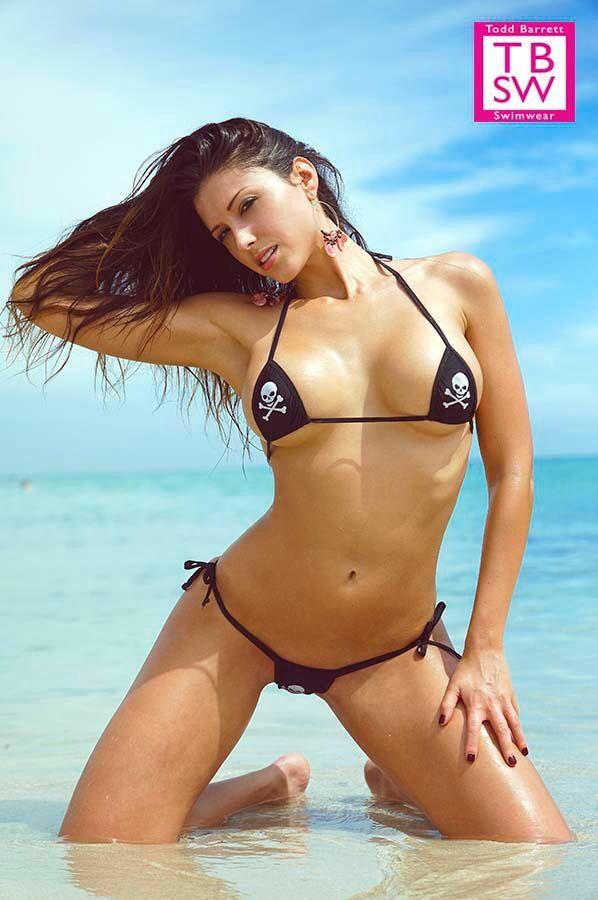 e9aff7beb2c Small Scrunch - Tie Side - Mini Micro - Micro G - Bikini - Todd Barrett  Swimwear - TBSW - Tbswimwear - Miami Beach - Sexy - 2014 Collection -  Puckered Back ...
