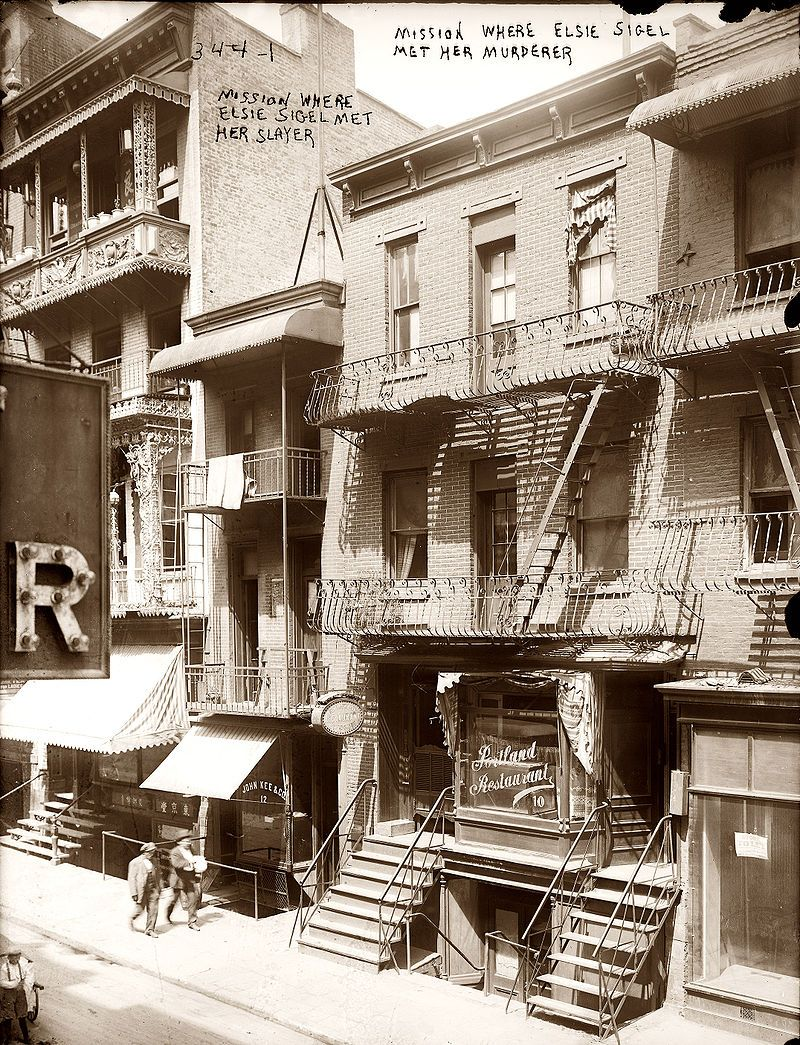 782 8th Ave NYC 1915 where Elsie Sigel was murdered - Hell\'s Kitchen ...