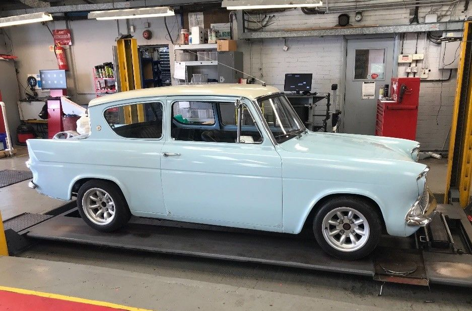 Ford Anglia 105e Fitted With 2 0 Zetec On Ebay Here Https Ebay To 2n1hm7t Ford Anglia Classic Fords For Sale Ford