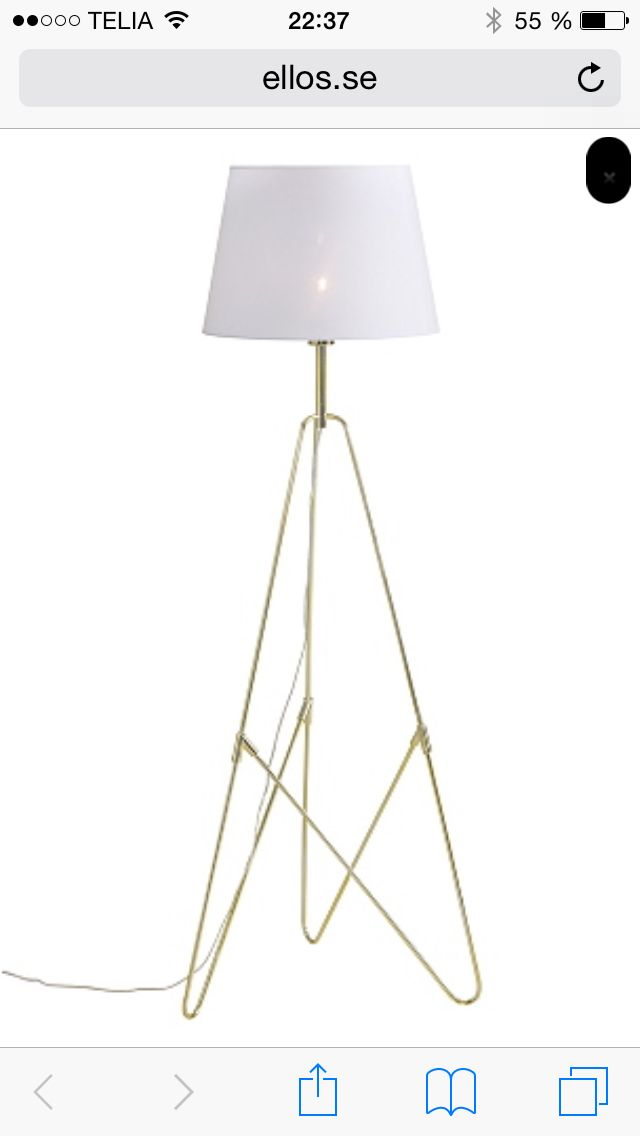Lampa till vardagsrummet