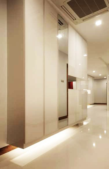 What is full height cabinet dimension in singapore for Foyer cabinet design