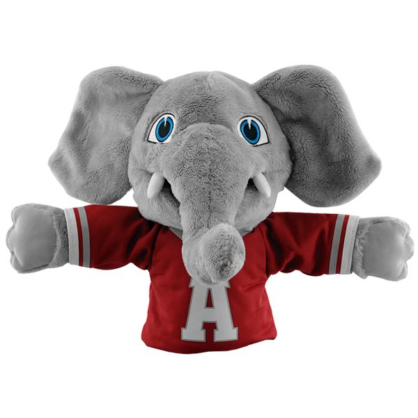 Alabama Crimson Tide Big Al Mascot Hand Puppet 19 99 With