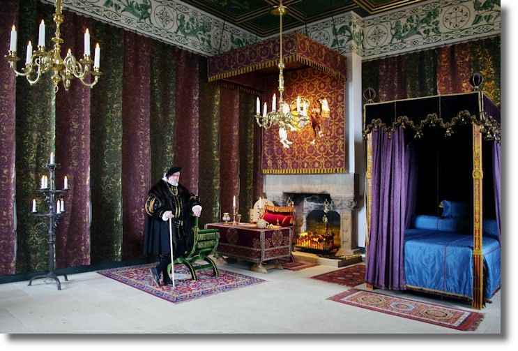 Bedchamber, Mary Queen of Scots, Stirling Castle