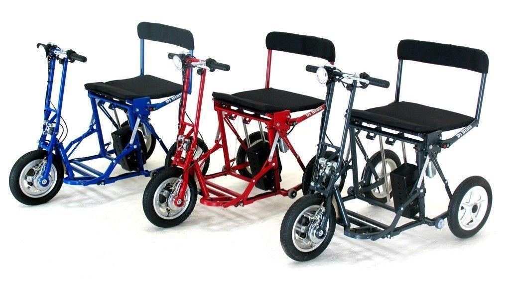Di Blasi R30 Folding Electric Italian Tricycle Scooter