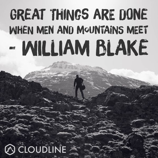 William Blake Love Quotes: 5 Of Our All Time Favorite Outdoor Adventure Quotes